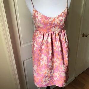 Boutique orange/pink summer dress